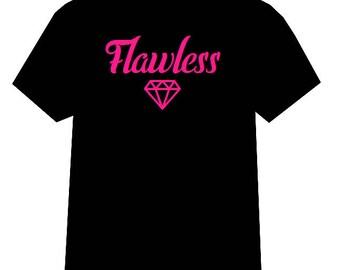 Flawless shirt, Diamond shirt, Flawless tshirt, Diamond tshirt, Diamond, Flawless, Boss Babe, Boss Bitch, HBIC, Beautiful tshirt, Make shirt