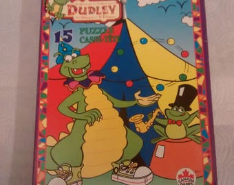 Vintage Canada Games 1995  Dudley The Dragon Puzzle Complete