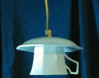 Johnson Bros. Heritage Teacup & Saucer Pendant Light