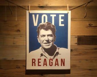 Ronald Reagan Campaign Poster