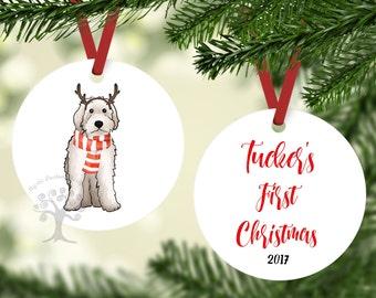 Doodle Christmas Ornament, Goldendoodle Christmas Ornament, Labradoodle Christmas Ornament, Goldendoodle Ornament, Labradoodle Ornament