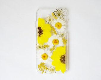 pressed flower iphone case phone case pressed flowers samsung galaxy s7 case samsung galaxy s8 plus pressed flower iphone 6 case unique gift