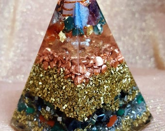 Orgonite ® Pyramid, VITAWunder Russian pyramid, unique