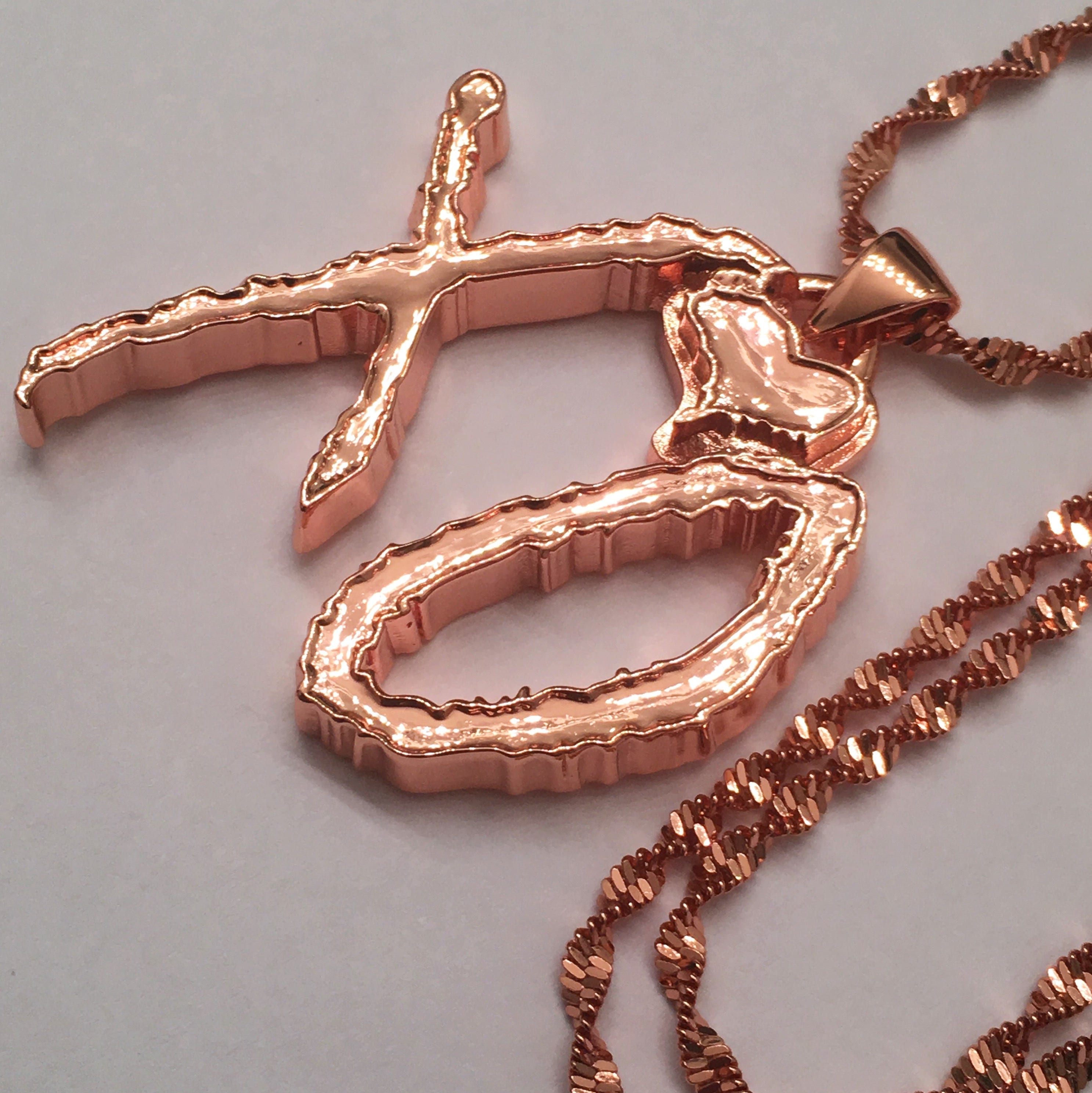 the weeknd xo necklace 1 5 large gold