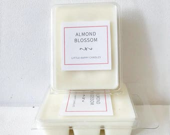 Almond Blossom - Handpoured Soy Wax Clamshell Melt