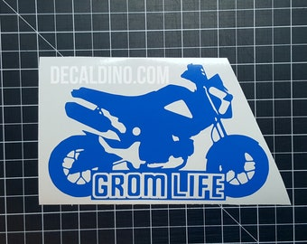 Grom Life Decal - Sticker MSX125
