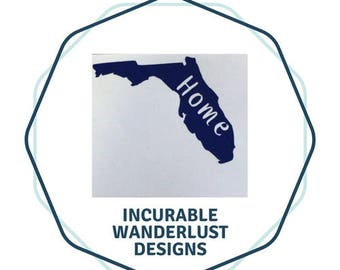 Florida Home Decal