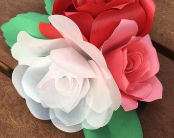 Learn to Scan'n Cut Kit - Papercraft Rose Bouquet