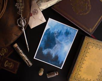 DEER PATRONUS PRINT | Harry Potter inspired print