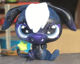 galaxy inspired OOAK lps custom fairy