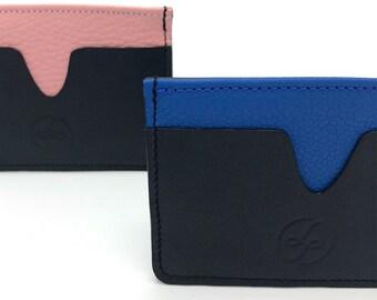 Card holder, Leather card holder, Handmade card holder, Gift idea, Handmade gift, Card case