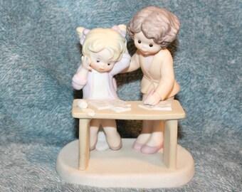 Sisters Best Friends Porcelain 1992 Enesco Corporation