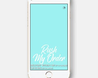 Rush My Order! Get the Filter within 1 to 12 hours!