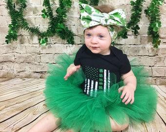 Matching Headbands- St Patricks Day Headband; St Patricks Day Headwrap; Clover Headband; Clover Headwrap; Clover Bow; St Patricks Day Bow