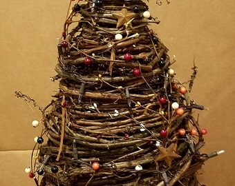 """32"""" hand wrapped Grapevine tree"""