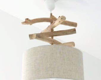 Luster - pendant - choose Driftwood