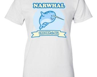 Narwhal Unicorn Of The Sea Shirt