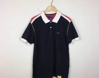 90s Tommy Hilfiger Polo, Tommy Hilfiger Shirt Size Medium