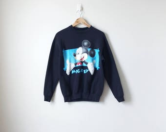 90s Mickey Mouse Sweatshirt - Mickey Unlimited Jerry Leigh - 90s Sweatshirt Vintage Sweatshirt 90s Disney Vintage Mickey Mouse - Men's M