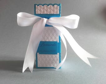 Hand made wedding favor christening or first communion