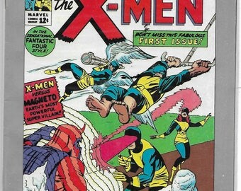 X-MEN #1 [1963 reprint]Marvel MILESTONES 1991