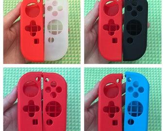 Soft silicone case for Nintendo switch ns joy-con controller protective cover