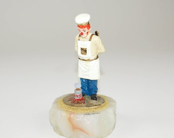 """1995 """"The Chef"""" Ron Lee Clown Figurine from 1995 