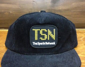 TSN Sports TV Retro SnapBack Hat vintage Canada BallCap SnapBack cap trucker hat sportsnet cable