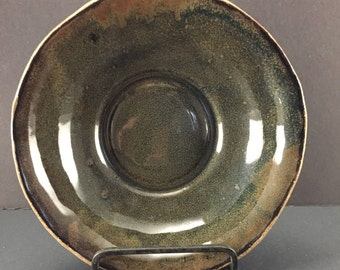 Handmade Ceramic Pottery Bowl / Handbuilt Stoneware Bowl / Wabi Sabi Bowls / In Stock Ready to Ship