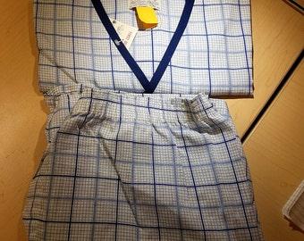 VINTAGE Summer Pajama's  80'S     by VARSITY      Medium   Never Worn,   Still With Tags
