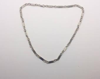 KARIBOU sterling silver link necklace