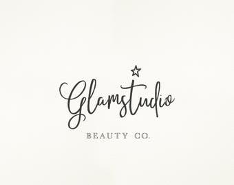 Business Logo, Logo Design, Photography Logo, Calligraphy Logo, Premade Logo