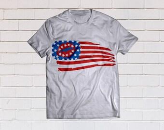 American flag svg, American woman svg, Usa flag svg, Lips svg, SVG Files, Cricut, Cameo, Cut file, Files, Clipart, Svg, DXF, Png, Pdf, Eps