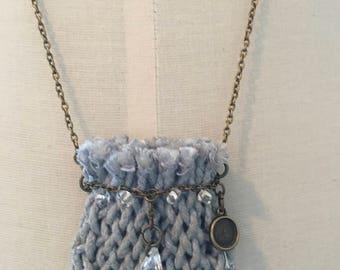 HAND-WOVEN  Medicine necklace bag