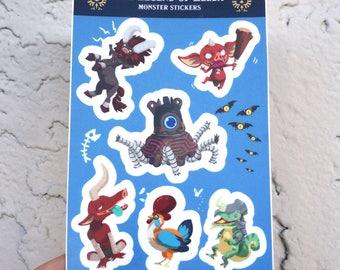 Legend of Zelda Sticker / Vinyl Sticker / Sticker Sheets / Cute Stickers / Stickers for Laptops