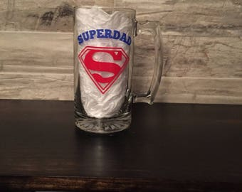 Super Dad Beer Mug