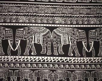 Ancient Elephant - Poly Spandex