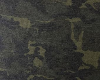 Texas Army Camo - French Terry
