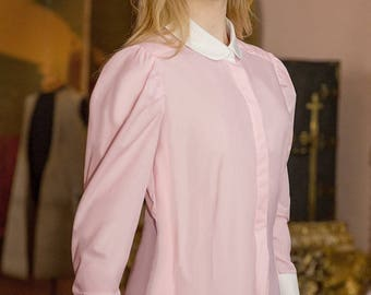 The Great Scot Edwardian Blouse (Petal Pink)