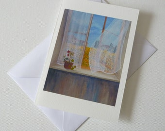 Sunflowers in Umbertide  (Greeting or Notelet cards)