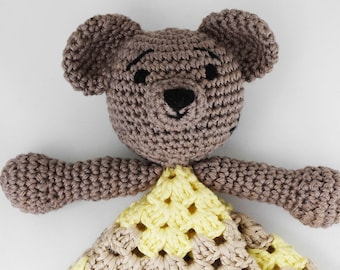 Handmade Teddy Bear soft and cute toy-comforter