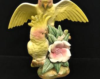 Vintage Parrots Figurine