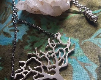 Silver Tree Necklace
