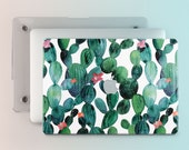 Cactus Pro Retina Macbook Air Case 13 Inch Tropical Succulent Air 11 Macbook Case For Macbook Pro 15 Case Macbook Pro Case 13 Floral m014