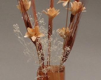 Canarywood Vase