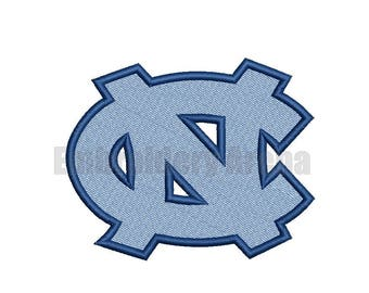 Football embroidery design - (North Carolina Tar Heels) - instant DOWNLOAD digital file