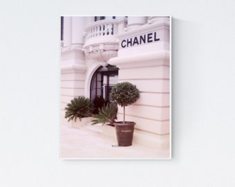 Chanel poster, Chanel print, Chanel wall decor, Chanel Paris, Chanel trendy decor, Chanel photo, Chanel photography, Chanel shop, Chanel art