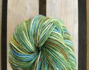 Mandarines Handdyed sock yarn – Fingering / sport - laine teinte knitting tricot
