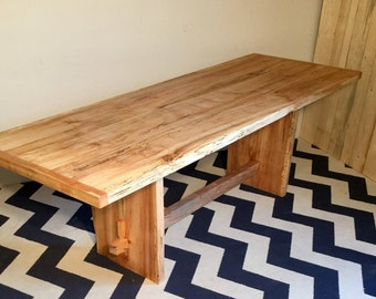 Dinning table, solid maple, farm house