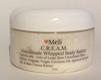 All natural chemical free body butter lotion cream C.R.E.A.M.